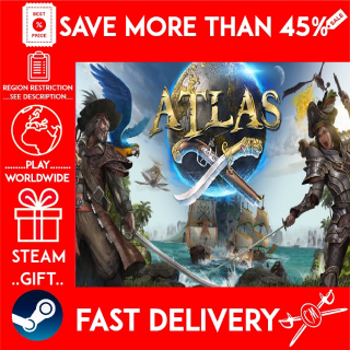 ATLAS (STEAM GIFT) 🎁🎁🎁 (get a bonus game 🎮 and a discount 💵 for the next purchase)