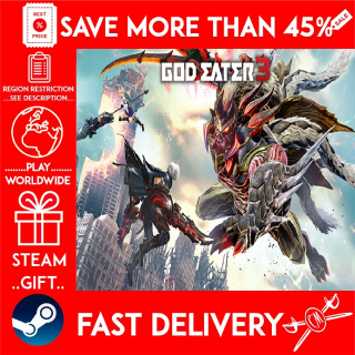 GOD EATER 3 (STEAM GIFT)🎁🎁🎁 (get a bonus game 🎮 and a discount 💵 for the next purchase)