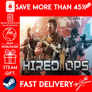 Hired Ops (STEAM GIFT)🎁🎁🎁 (get a bonus game 🎮 and a discount 💵 for the next purchase)