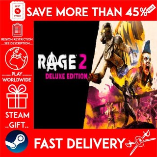 RAGE 2 - Deluxe Edition (STEAM GIFT) 🎁🎁🎁 (get a bonus game 🎮 and a discount 💵 for the next purchase)