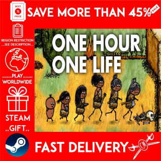 One Hour One Life (STEAM GIFT)🎁🎁🎁 (get a bonus game 🎮 and a discount 💵 for the next purchase)