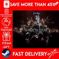 Middle-earth™: Shadow of War™ (STEAM GIFT)🎁🎁🎁 (get a bonus game 🎮 and a discount 💵 for the next purchase)