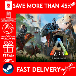 ARK: Survival Evolved (STEAM GIFT) 🎁🎁🎁 (get a bonus game 🎮 and a discount 💵 for the next purchase)