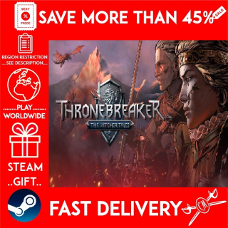 Thronebreaker: The Witcher Tales (STEAM GIFT)🎁🎁🎁 (get a bonus game 🎮 and a discount 💵 for the next purchase)
