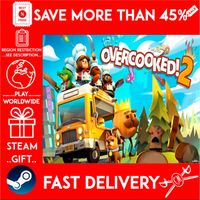 Overcooked! 2 (STEAM GIFT) 🎁🎁🎁 (get a bonus game 🎮 and a discount 💵 for the next purchase)