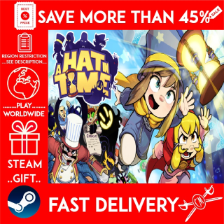 A Hat in Time (STEAM GIFT) 🎁🎁🎁 (get a bonus game 🎮 and a discount 💵 for the next purchase)