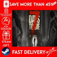 7 Days to Die (STEAM GIFT)🎁🎁🎁 (get a bonus game 🎮 and a discount 💵 for the next purchase)
