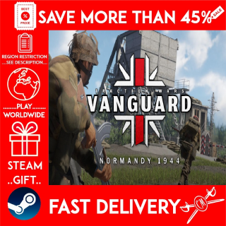 Vanguard: Normandy 1944 (STEAM GIFT) 🎁🎁🎁 (get a bonus game 🎮 and a discount 💵 for the next purchase)