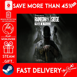 Tom Clancy's Rainbow Six® Siege - Year 4 Pass (STEAM GIFT)🎁🎁🎁 (get a bonus game 🎮 and a discount 💵 for the next purchase)