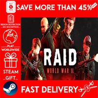 RAID: World War II (STEAM GIFT) 🎁🎁🎁 (get a bonus game 🎮 and a discount 💵 for the next purchase)
