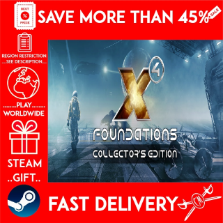 X4: Foundations Collector's Edition (STEAM GIFT)🎁🎁🎁 (get a bonus game 🎮 and a discount 💵 for the next purchase)