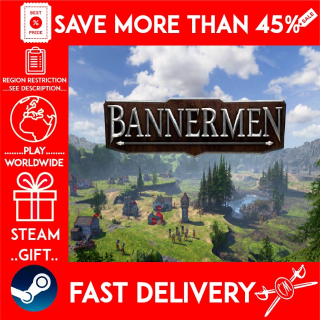 BANNERMEN (STEAM GIFT)🎁🎁🎁 (get a bonus game 🎮 and a discount 💵 for the next purchase)