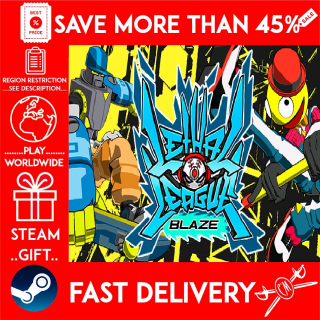 Lethal League Blaze (STEAM GIFT)🎁🎁🎁 (get a bonus game 🎮 and a discount 💵 for the next purchase)