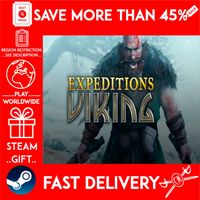 Expeditions: Viking (STEAM GIFT) 🎁🎁🎁 (get a bonus game 🎮 and a discount 💵 for the next purchase)