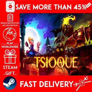 TSIOQUE (STEAM GIFT)🎁🎁🎁 (get a bonus game 🎮 and a discount 💵 for the next purchase)