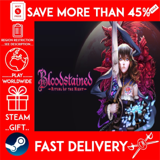 Bloodstained: Ritual of the Night (STEAM GIFT) 🎁🎁🎁 (get a bonus game 🎮 and a discount 💵 for the next purchase)