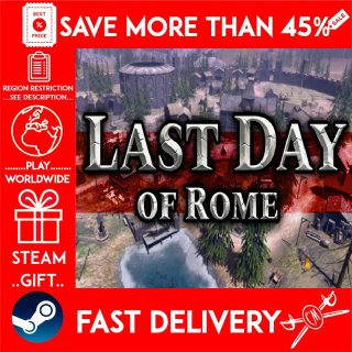Last Day of Rome (STEAM GIFT) 🎁🎁🎁 (get a bonus game 🎮 and a discount 💵 for the next purchase)