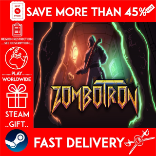 Zombotron (STEAM GIFT)🎁🎁🎁 (get a bonus game 🎮 and a discount 💵 for the next purchase)