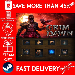 Grim Dawn - Steam Loyalist Items Pack (STEAM GIFT)🎁🎁🎁 (get a bonus game 🎮 and a discount 💵 for the next purchase)