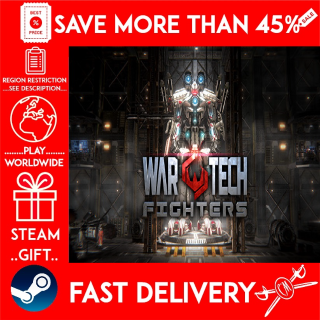 War Tech Fighters (STEAM GIFT)🎁🎁🎁 (get a bonus game 🎮 and a discount 💵 for the next purchase)