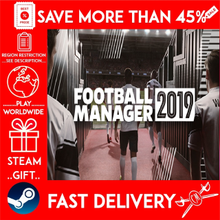 Football Manager 2019 (STEAM GIFT) 🎁🎁🎁 (get a bonus game 🎮 and a discount 💵 for the next purchase)