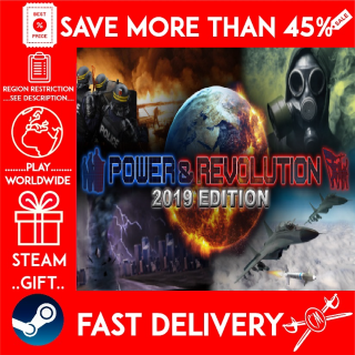 Power & Revolution 2019 Edition (STEAM GIFT)🎁🎁🎁 (get a bonus game 🎮 and a discount 💵 for the next purchase)