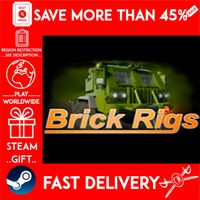 Brick Rigs (STEAM GIFT) 🎁🎁🎁 (get a bonus game 🎮 and a discount 💵 for the next purchase)