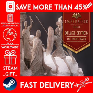 Imperator: Rome - Deluxe Edition Upgrade Pack ❗DLC❗ (STEAM GIFT)🎁🎁🎁 (get a bonus game 🎮 and a discount 💵 for the next purchase)