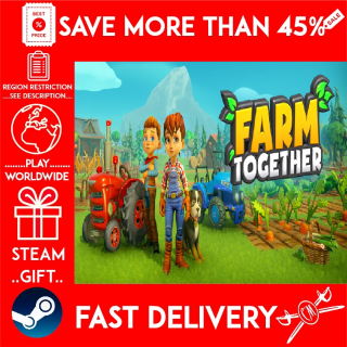 Farm Together Complete Edition (STEAM GIFT)🎁🎁🎁 (get a bonus game 🎮 and a discount 💵 for the next purchase)