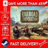 Railroad Corporation (STEAM GIFT) 🎁🎁🎁 (get a bonus game 🎮 and a discount 💵 for the next purchase)