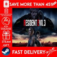 RESIDENT EVIL 3 (STEAM GIFT) 🎁🎁🎁 (get a bonus game 🎮 and a discount 💵 for the next purchase)