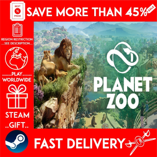 Planet Zoo (STEAM GIFT) 🎁🎁🎁 (get a bonus game 🎮 and a discount 💵 for the next purchase)