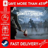 The Walking Dead: Saints & Sinners Tourist Edit (STEAM GIFT) 🎁🎁🎁 (get a bonus game 🎮 and a discount 💵 for the next purchase)
