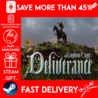 Kingdom Come: Deliverance (STEAM GIFT)🎁🎁🎁 (get a bonus game 🎮 and a discount 💵 for the next purchase)