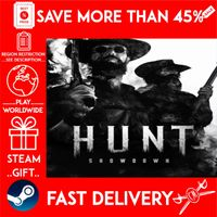 Hunt Showdown (STEAM GIFT)🎁🎁🎁 (get a bonus game 🎮 and a discount 💵 for the next purchase)