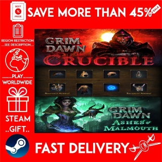 Grim Dawn SUPER MEGA BUNDLE - 3 DLC (STEAM GIFT)🎁🎁🎁 (get a bonus game 🎮 and a discount 💵 for the next purchase)