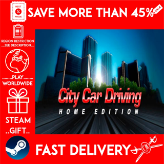 City Car Driving (STEAM GIFT)🎁🎁🎁 (get a bonus game 🎮 and a discount 💵 for the next purchase)