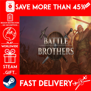Battle Brothers (STEAM GIFT)🎁🎁🎁 (get a bonus game 🎮 and a discount 💵 for the next purchase)