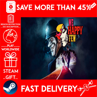 We Happy Few (STEAM GIFT)🎁🎁🎁 (get a bonus game 🎮 and a discount 💵 for the next purchase)