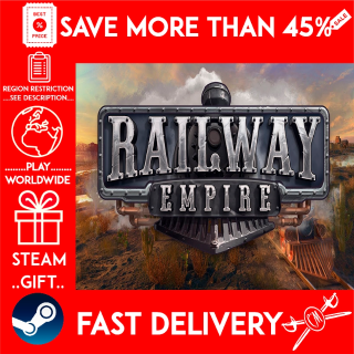 Railway Empire (STEAM GIFT)🎁🎁🎁 (get a bonus game 🎮 and a discount 💵 for the next purchase)