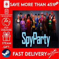 SpyParty (STEAM GIFT) 🎁🎁🎁 (get a bonus game 🎮 and a discount 💵 for the next purchase)