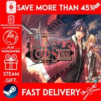 The Legend of Heroes: Trails of Cold Steel II (STEAM GIFT) 🎁🎁🎁 (get a bonus game 🎮 and a discount 💵 for the next purchase)