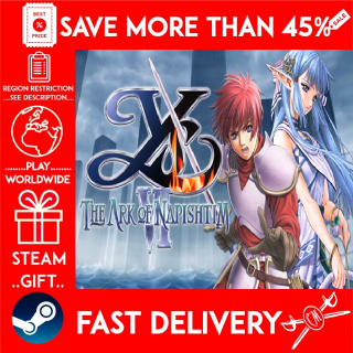 Ys VI: The Ark of Napishtim (STEAM GIFT)🎁🎁🎁 (get a bonus game 🎮 and a discount 💵 for the next purchase)