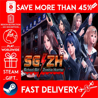 SG/ZH: School Girl/Zombie Hunter (STEAM GIFT) 🎁🎁🎁 (get a bonus game 🎮 and a discount 💵 for the next purchase)