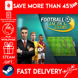 Football, Tactics & Glory (STEAM GIFT)🎁🎁🎁 (get a bonus game 🎮 and a discount 💵 for the next purchase)