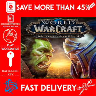 World of Warcraft: Battle for Azeroth / WOW / (BATTLE.NET KEY) REGION EU 🗝️🗝️🗝️