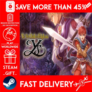 Ys: The Oath in Felghana (STEAM GIFT)🎁🎁🎁 (get a bonus game 🎮 and a discount 💵 for the next purchase)