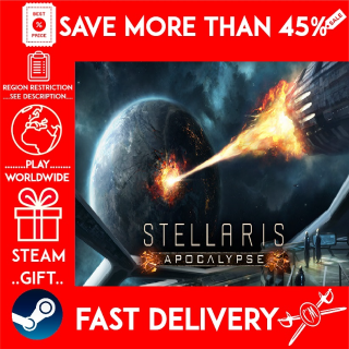 Stellaris: Apocalypse DLC !!! (STEAM GIFT)🎁🎁🎁 (get a bonus game 🎮 and a discount 💵 for the next purchase)