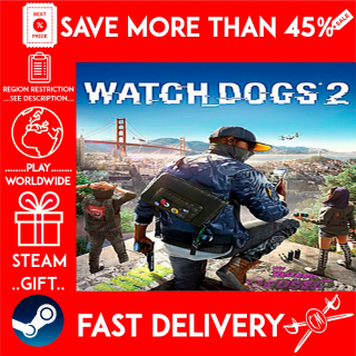 Watch_Dogs® 2 (STEAM GIFT)🎁🎁🎁 (get a bonus game 🎮 and a discount 💵 for the next purchase)