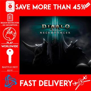 Diablo III Rise of the Necromancer (BATTLE.NET KEY) (Global) DLC 🗝️🗝️🗝️